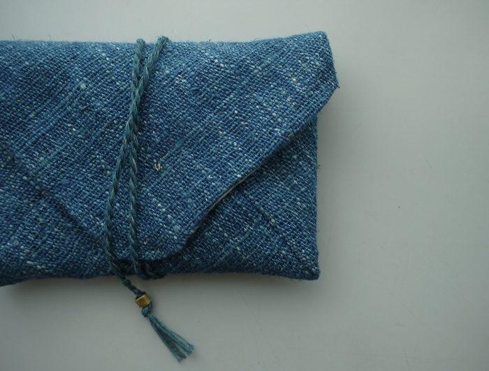 藍染めのkurumuを再販しています。